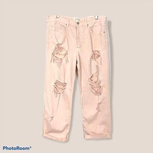 Free People distressed Patel jeans 31
